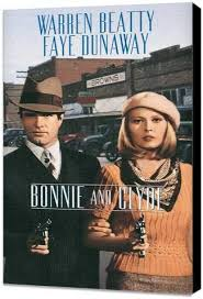 Amazon.com: ArtFuzz Bonnie and Clyde 11 x 17 Movie Poster - Style ...